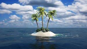 ヨガ、無人島で遭難した時に役立つから!!