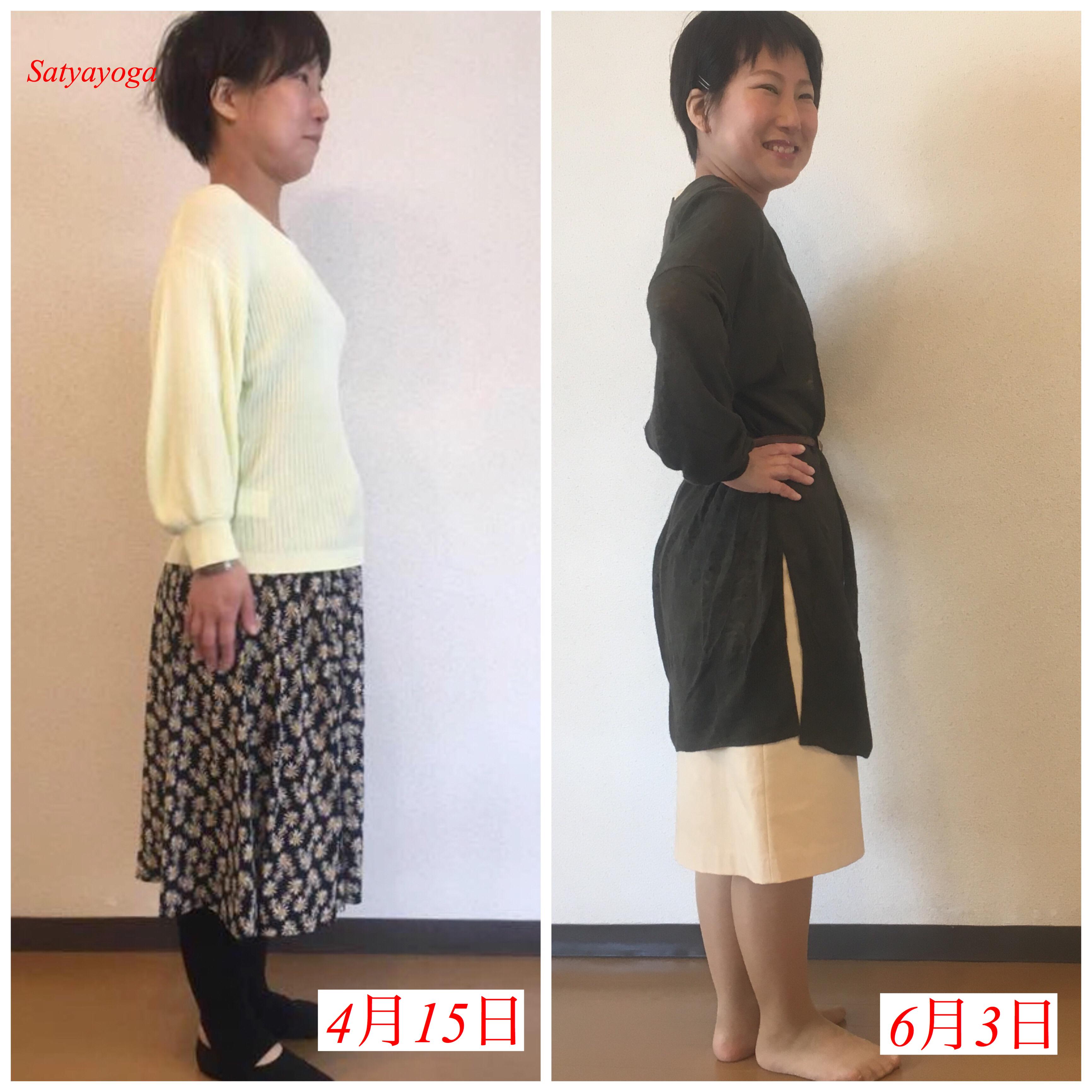 痩せて買った服が、一年後にはきつい