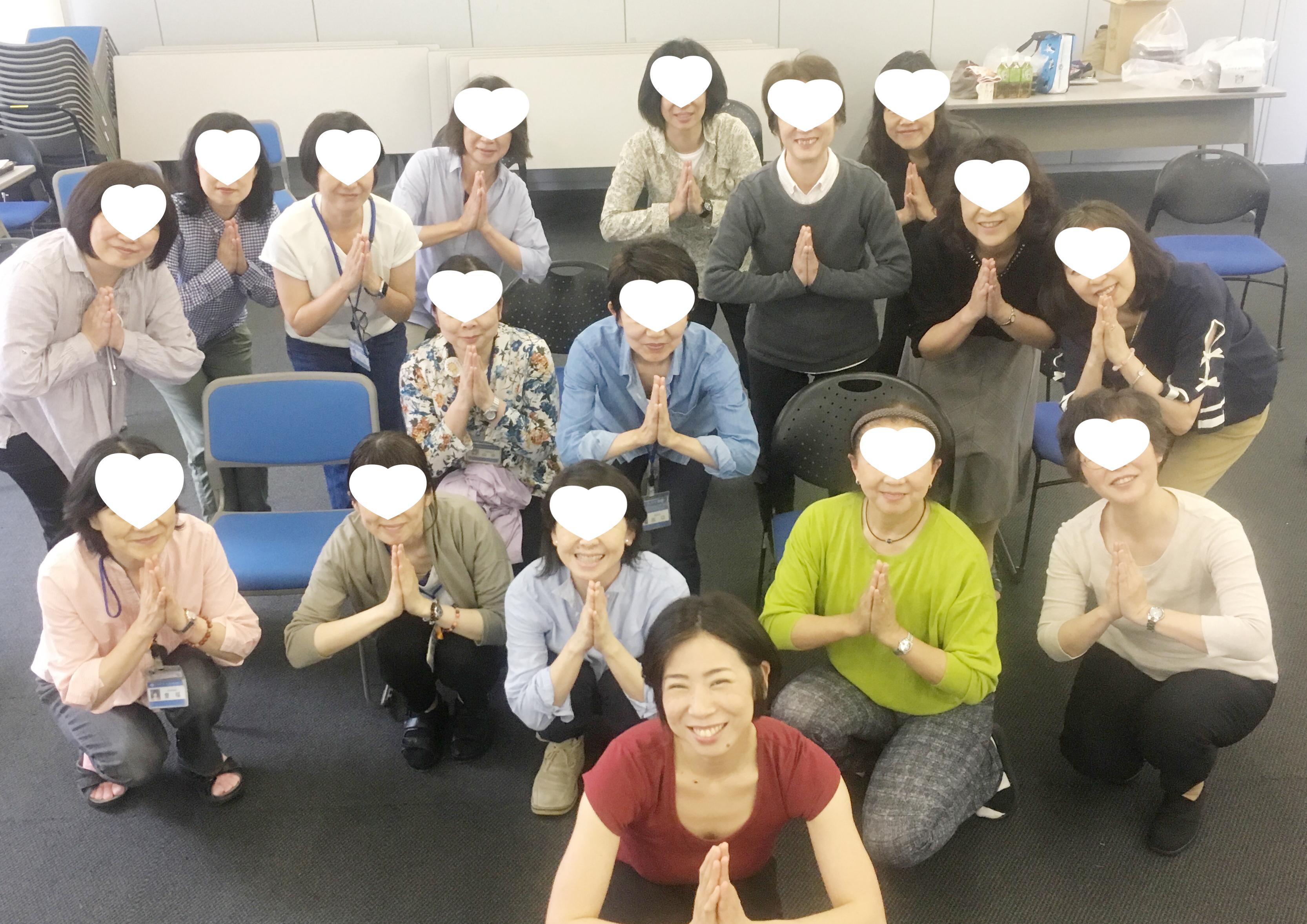 横浜市からのオファー、今年もヨガレッスンを開催しました